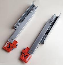 Ray âm giảm chấn 2 tầng mở 3/4 Zinc độ dài từ 250mm đến 500mm có khóa
