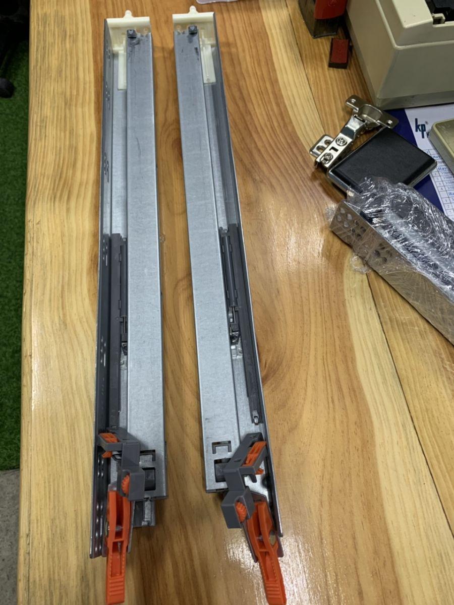 Ray trượt âm  3 tầng (mở toàn phần )dài 533mm chất lượng cao phù hợp thị trường Mỹ